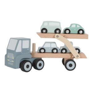 Camion din lemn cu platforma