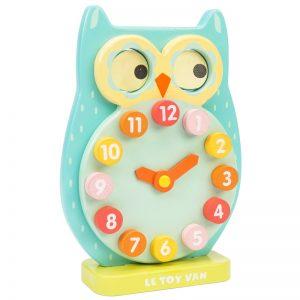 Ceas din lemn Bufnita – Le Toy Van