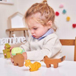 Jucarie de stivuit animale – Le Toy Van