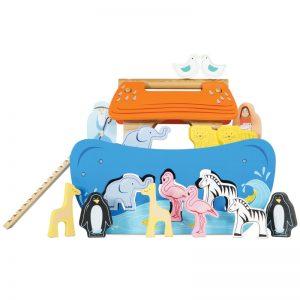 Arca lui Noe cu forme de sortat – Le Toy Van