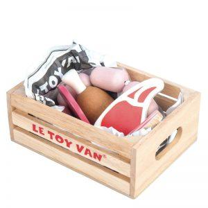 Ladita din lemn cu produse din carne - Le Toy Van