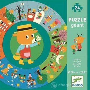 puzzle circular anotimpuri
