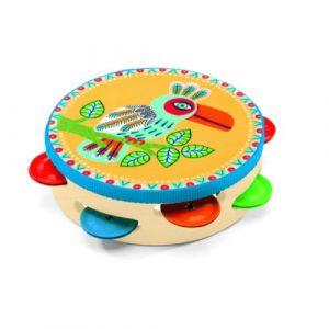 tamburina copil