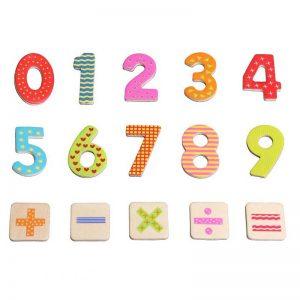 Cifre magnetice pentru copii