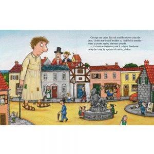 Cel mai fain urias din oras carte copii despre generozitate